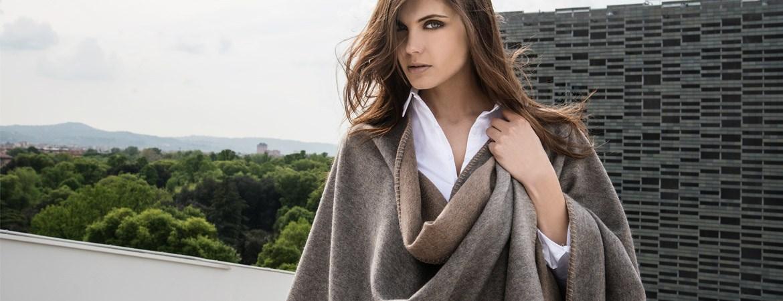 women's cashmere cape