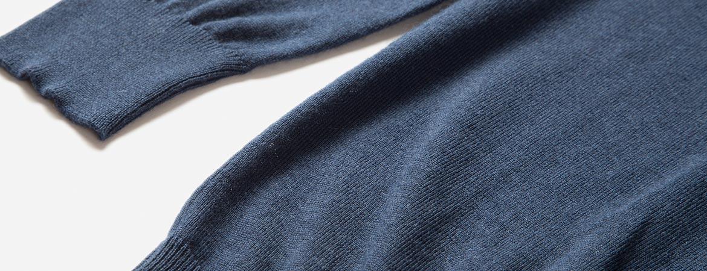 men's silk cashmere crew neck