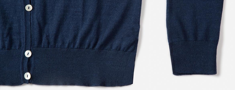 women's silk cashmere cardigan