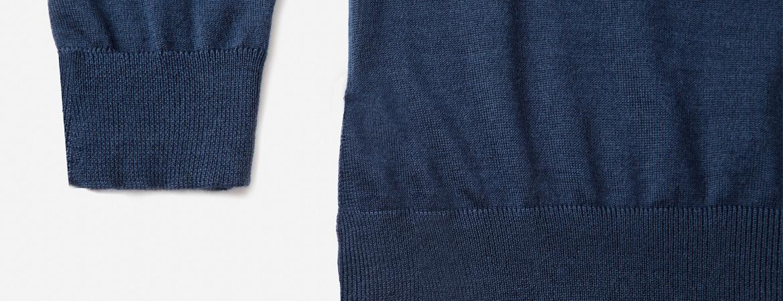 women's silk cashmere crew neck