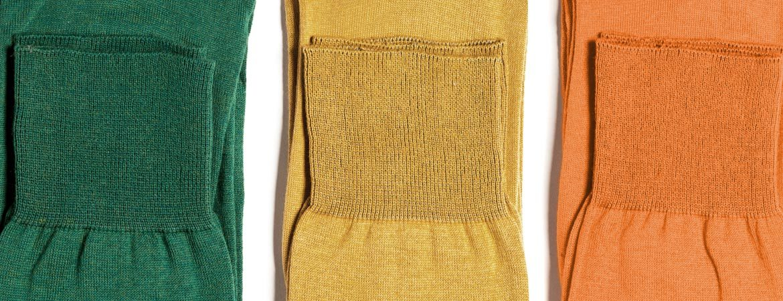 Long Cotton Cashmere Socks